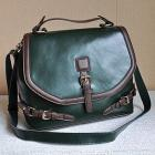 Chinese vintage leather tote bag (PLU1096)