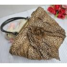 Leopard flower straw bag (PLU1031)