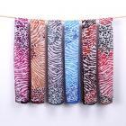 Animal print Vintage chiffon scarf